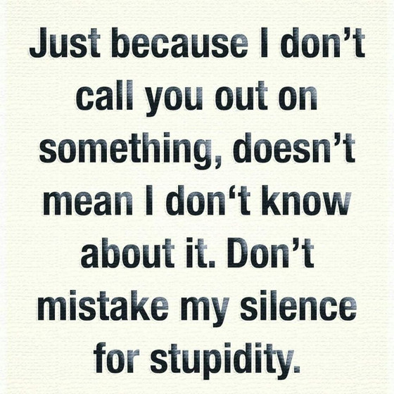 Stupid .. Not Me!