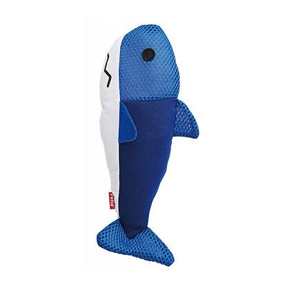 Petio貓用踢踢腳磨牙潔齒玩具(鯊魚)
