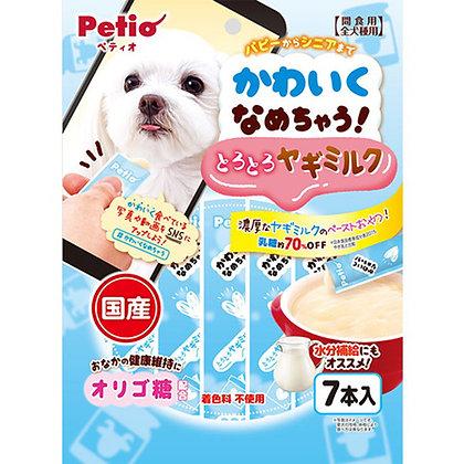 Petio狗小食 綜合營養.山羊奶醬 7支裝 #A168(W13591)