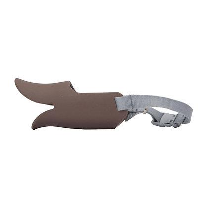 OPPO #P33犬用鴨咀口罩 M (棕色)