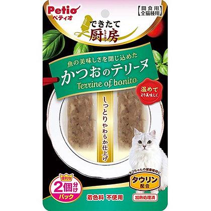 Petio貓小食鮮廚 鰹魚肉碎 2P #B73(W13428)