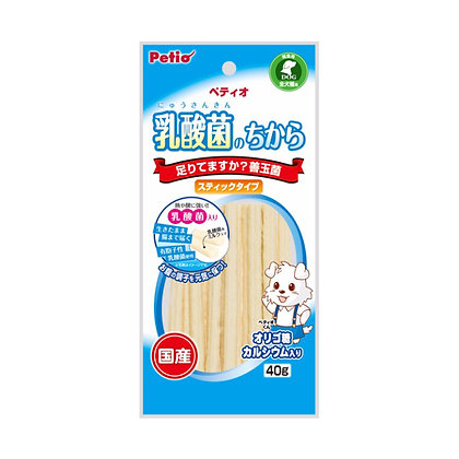 Petio狗小食乳酸菌 善玉菌棒 40g  #A91(W12580)