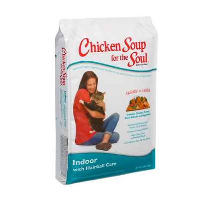 Chicken Soup 室內成貓去毛球 專業護理天然配方