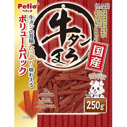 Petio狗小食原味蒸牛舌  250g #A100(W13399)