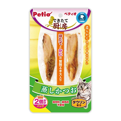 Petio貓小食鮮廚蒸鰹魚塊 35g  #B40(W1167200)