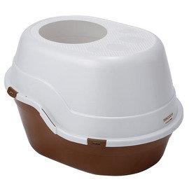 Petio necoco封閉式單層貓廁所(棕色) #F25 (W25099)