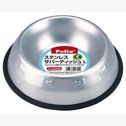 Petio防滑不鏽鋼狗碗(大)