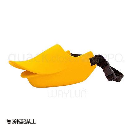 OPPO #P18犬用閉口式鴨咀口罩 LL (橙色)