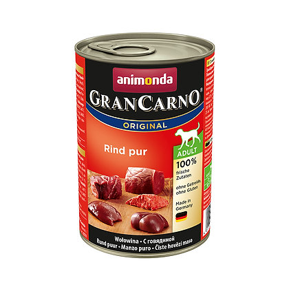 Animonda GranCarno 成犬|純牛肉 400g #N61