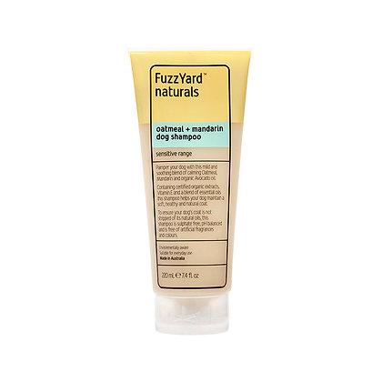 敏感肌膚配方天然洗毛液 (燕麥 + 蜜柑) K7