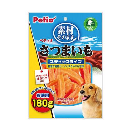 Petio狗小食天然原味 甘薯條160g  #A52(W11660)