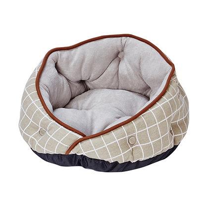 Cuna 圓形窩寵物床 灰色 #H40(A25611)