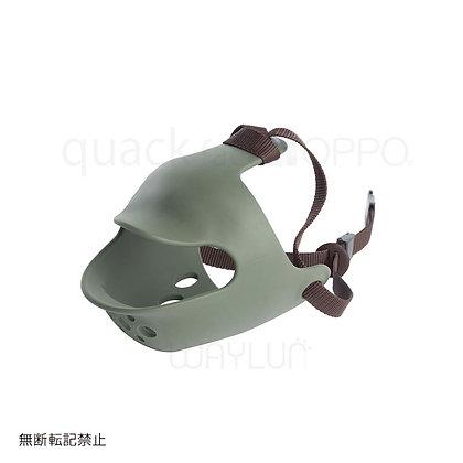 OPPO #P22犬用面罩式鴨咀口罩 M (綠色)