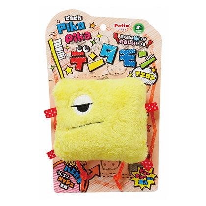 Petio磨牙怪獸狗玩具(黃色) #G61(W23178)