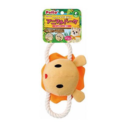 Petio動物園麻繩狗玩具(獅子)