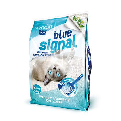 SIVOCAT 專利晶體除臭變色凝結貓砂 8L