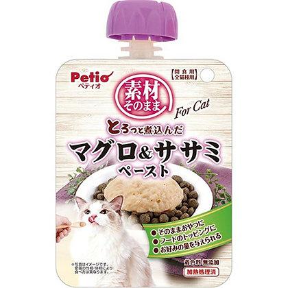 Petio貓小食原汁原味 燉煮吞拿魚&雞胸肉醬 90g  #B79(W13422)