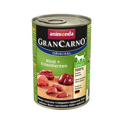 Animonda GranCarno 成犬|牛肉 + 火雞 + 鴨肉 400g #N62