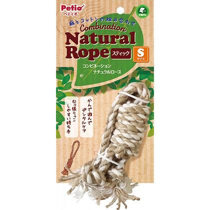 Petio犬用磨牙潔齒麻繩玩具  S