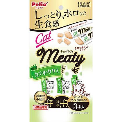 Petio貓小食 無添加.生食感 鰹魚&雞胸肉肉醬 3支裝 #B95(W13575)