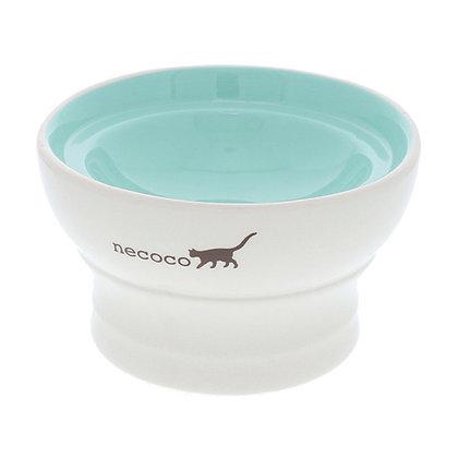 Petio necoco陶瓷高腳濕糧專用貓碗 #F92 (W25580)
