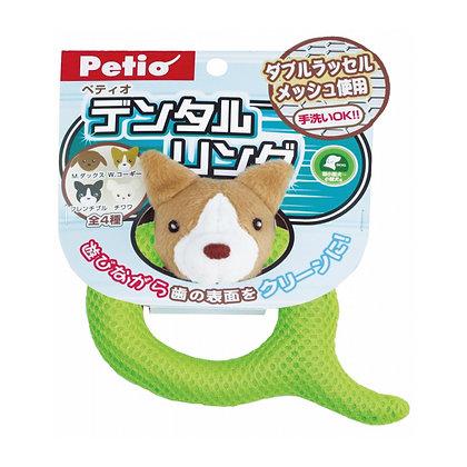 Petio可愛潔齒環狗玩具(哥基)
