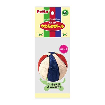 Petio柔軟籃球狗玩具