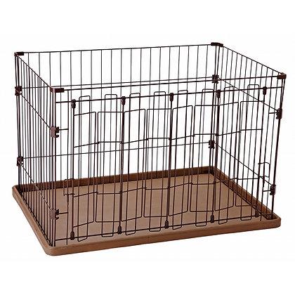 Petio犬用全開式摺疊門圍欄 #F60(W21432)