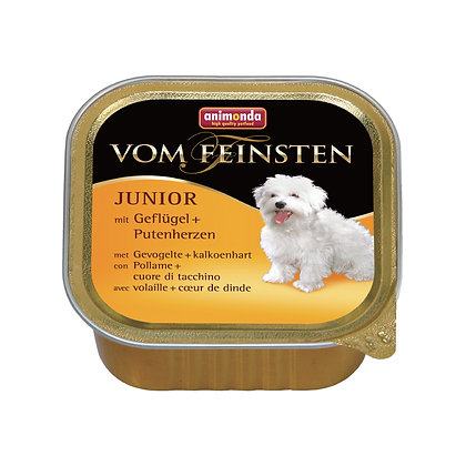 Animonda Vom Feinsten 幼犬配方 精選雞肉+火雞心 150g #N33