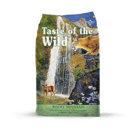 Taste of the Wild無穀物烤鹿肉+煙燻三文魚配方 (全貓糧|美國版)