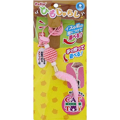 Petio CATTOY 粉色尾巴 多玩法手持逗貓繩 #G127 (W26157)