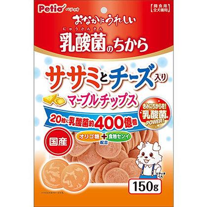 Petio狗小食 乳酸菌芝士低脂雞胸肉圓片 150g #A180(W13625)