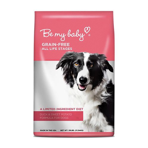 Be My Baby Duck & Sweet Potato Formula (Grain-free | All Life Stages)