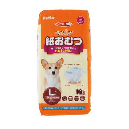 zuttone高齡犬護理專用紙尿片 L 16片 #D59(W24074)