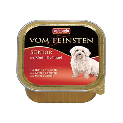 Animonda Vom Feinsten 高齡犬配方 牛肉+雞肉 150g #N45