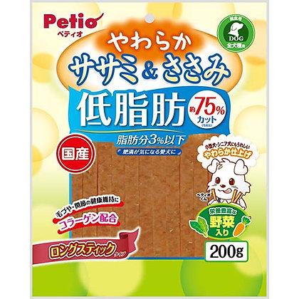 Petio狗小食低脂雞胸肉及蔬菜長條200g #A148 (W12915)