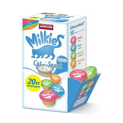 Animonda Milkies 迷你20杯裝貓貓牛奶(混合口味)Selection #N22