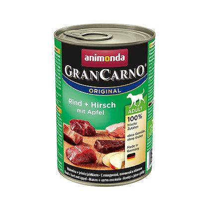 Animonda GranCarno 成犬|牛肉 + 鹿肉 + 蘋果 400g #N63