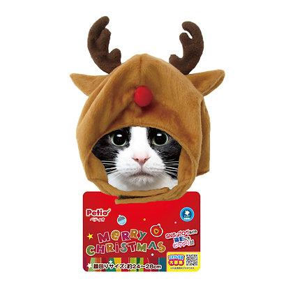Petio®聖誕變裝帽 (W25063)馴鹿貓