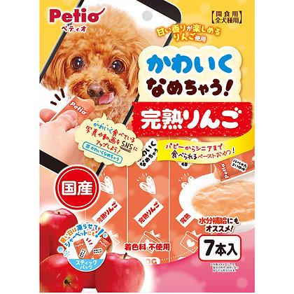 Petio狗小食 完熟蘋果醬 7支裝 (獨立包裝可雪凍) #A132(W13467)