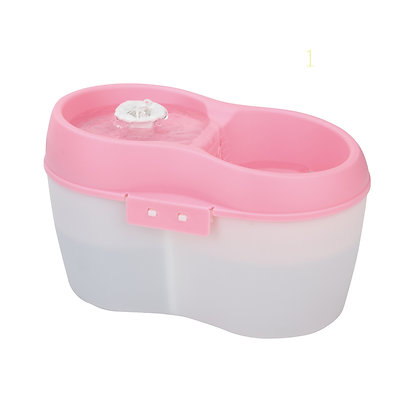 Cat H2O 寵物活性碳除口氣飲水機(粉色+白)