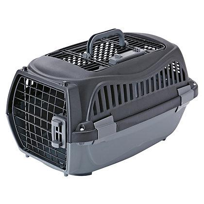 Petio寵物雙門手提籠 黑色S #F57 (W22023)