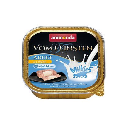 Animonda Vom Feinsten 成貓|雞肉+牛奶夾心 100g #N71