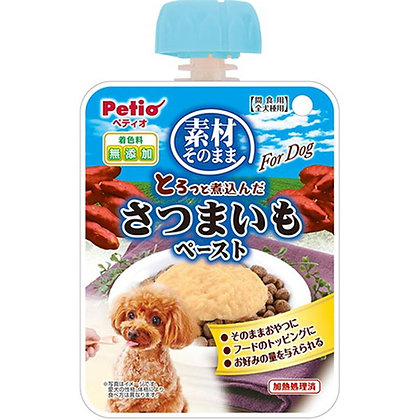 Petio狗小食原汁原味 燉煮甘薯酱 90g  #A115(W10808)