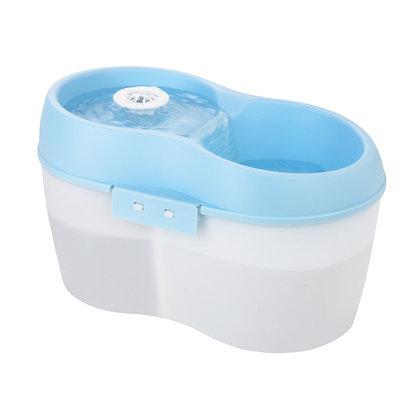 Cat H2O 寵物活性碳除口氣飲水機(藍+白)