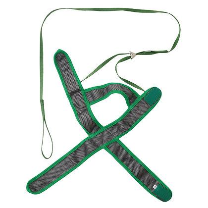 Petio田園風貓用柔軟胸帶牽引繩(綠色) M #J51 (W55270)