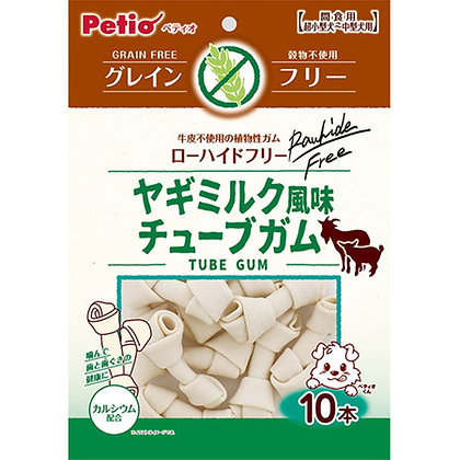 Petio狗小食 無穀物.山羊奶風味 潔齒骨 10條裝 #A162 (W13560)