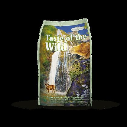 Taste of the Wild 無穀物烤鹿肉+煙燻三文魚配方(全貓糧 | 國際版)