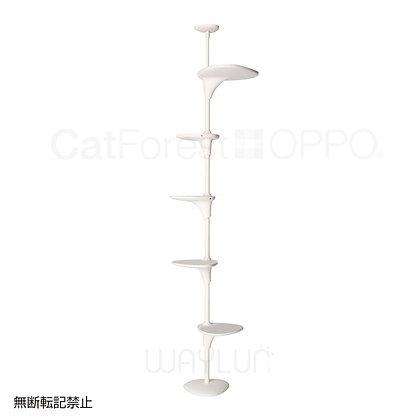 OPPO #P43森林貓爬架(白色)