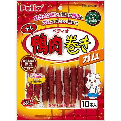 Petio狗小食鴨肉牛筋卷 10p  #A76(W13227)